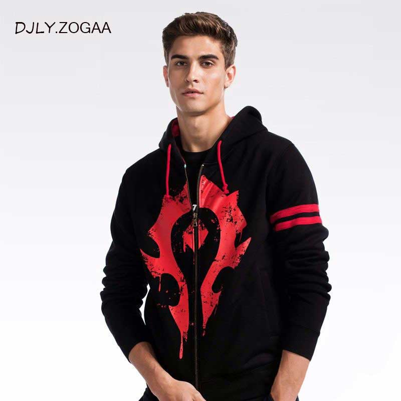 ZOGAA 2019 New Men Fashion Hoodies Men's Hoodies Sweatshirts LOGO Print Size M-2XL