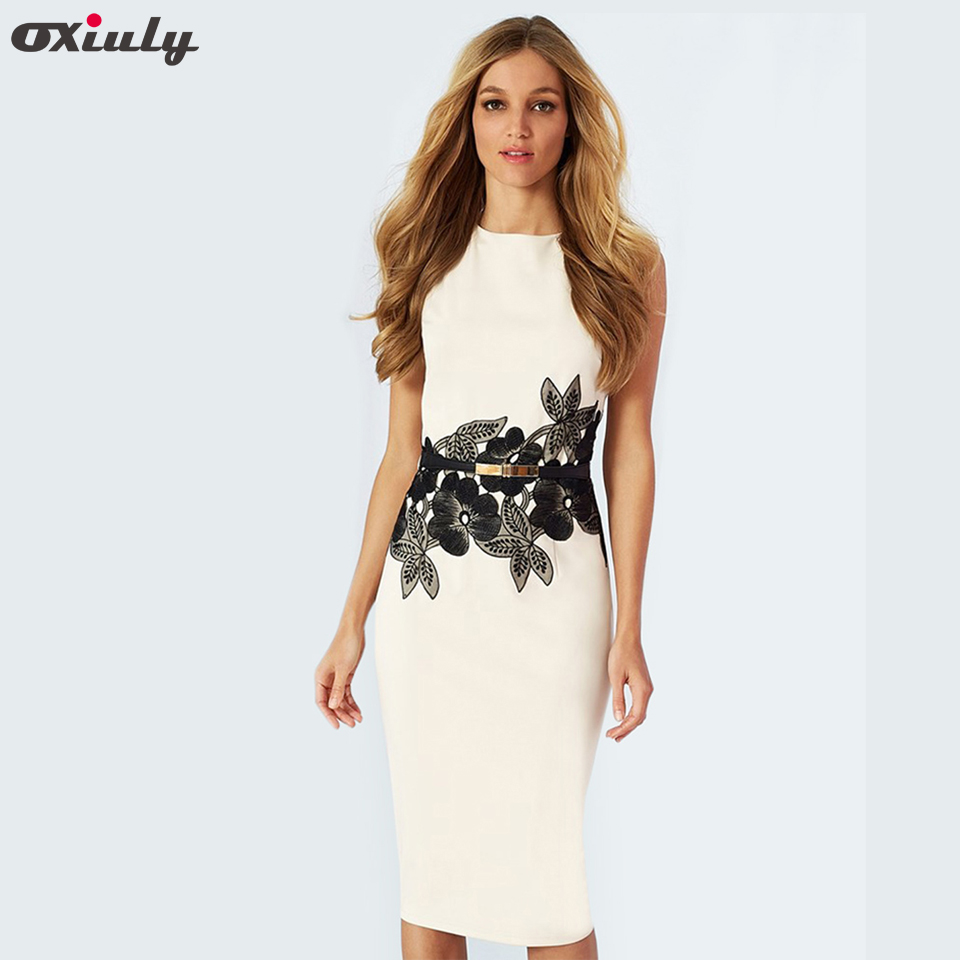 Oxiuly 2017 New Style Summer Brief Dress Fashion White Casual Womens Wear Floral Print