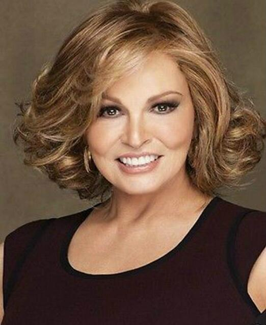 Jewelry Wig Raquel Welch Brown Curly Hair Wigs Fashion Short Women's Wig Free Shipping
