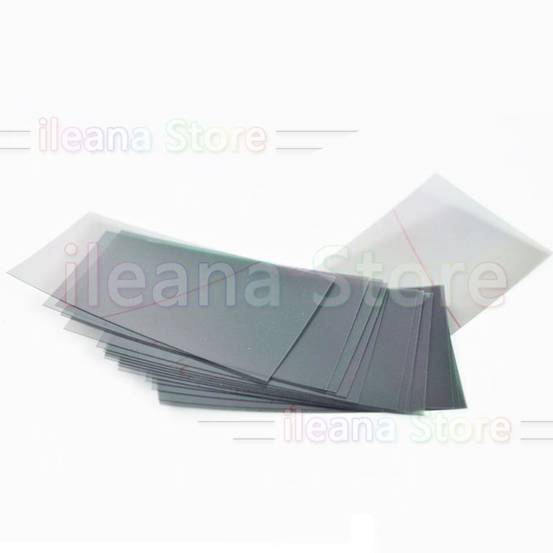 10 Piece Polarized For Huawei P8 P9 P10 P20 Plus Honor Mate 7 8 9 10 Pro Lite LCD Touch Screen Display Polarizer Film