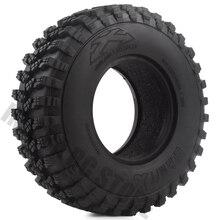 """4 יח\סט גומי 1.9 """"105*35mm גלגל צמיגים עבור 1/10 RC Crawler משאית וודו KLR צירי SCX10 90046 90047 AXI03007 RC רכב צמיגים"""