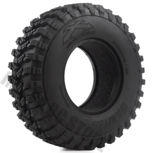 """4PCS/Set Rubber 1.9"""" 105*35mm Wheel Tires for 1/10 RC Crawler Truck Voodoo KLR Axial SCX10 90046 90047 AXI03007 RC Car Tyres"""