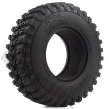 "Neumáticos de goma para coche teledirigido, 4 unidades/juego, 1,9 "", 105*35mm, para camión trepador teledirigido 1/10, vuodoo KLR Axial SCX10 90046 90047 AXI03007"