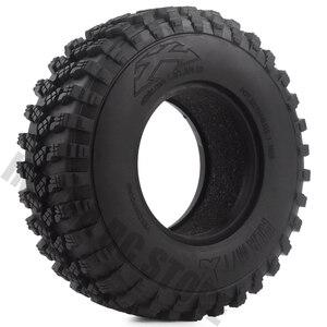 Image 1 - Pneus en caoutchouc de 1.9 pouces 105x35mm, ensemble de 4 pièces, pneus de voiture pour camion à chenilles RC 1/10, vodoo KLR Axial SCX10 90046 90047 AXI03007 RC