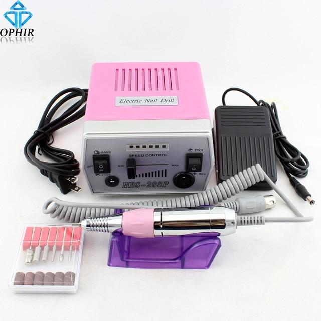 OPHIR 30000RPM Electric Nail Drill Machine Manicure Pedicure Drill ...