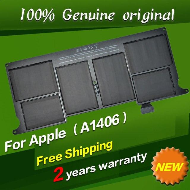 """JIGU Бесплатная доставка A1406 Оригинальный Аккумулятор Для Ноутбука APPLE MacBook Air 11 """"A1370 [2011] A1465 [2012]"""