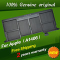 "JIGU Free shipping A1406 Original Laptop Battery For APPLE MacBook Air 11"" A1370 [2011 Production] A1465 [2012 Production]"