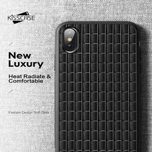 KISSCASE Soft Flexible TPU Silicone Phone For iPhone X XS MAX XR Cover New Luxury  Funda Conque Capas