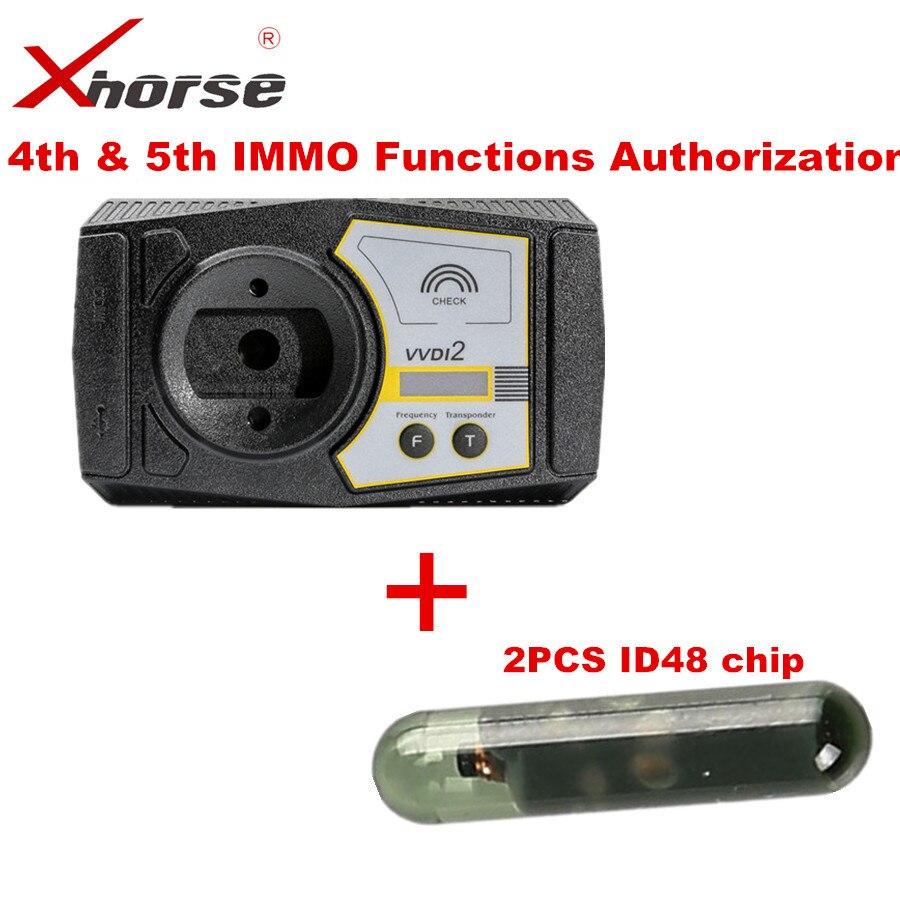 Xhorse VVDI2 Comandante Programmatore Chiave Per Audi Per V-W 4th & 5th IMMO Funzioni di Autorizzazione
