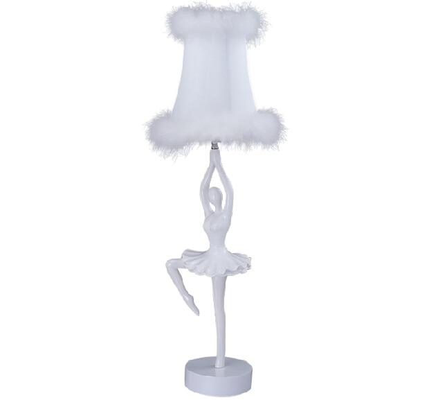 Exceptional FUMAT Ballerina Table Lamps Modern Ballerina Lamp For Bedroom White Resin  Ballet Dancer Table Lamp Living