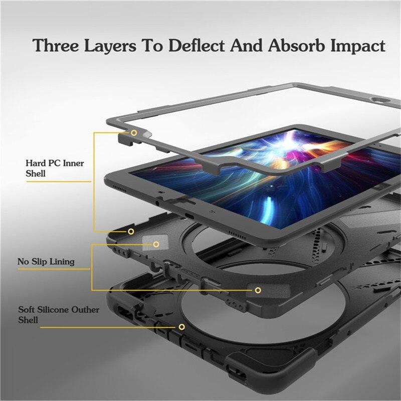 For Tab S3 SM-T820 Kids Funda rígida de silicona resistente a prueba - Accesorios para tablets - foto 3