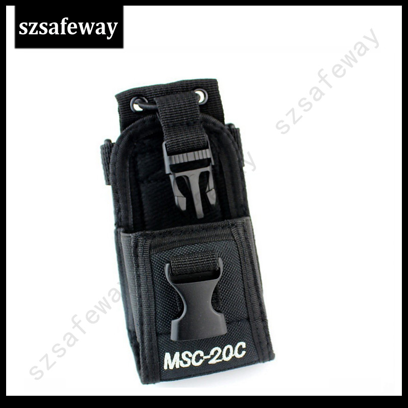 MSC-20C Nylon Radio Carry Case Holder For Motorola GP328/GP338+ BaoFeng GT-3 UV-5R UV-5RA BF-F8HP UV-82 BF-888S WouXun KG-UV8D