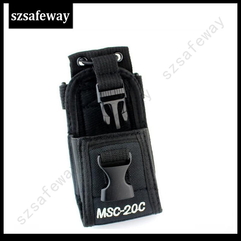 bilder für MSC-20C Nylon Radio tragetasche Halter Für Motorola GP328/GP338 + BaoFeng GT-3 UV-5R UV-5RA BF-F8HP UV-82 BF-888S WouXun KG-UV8D