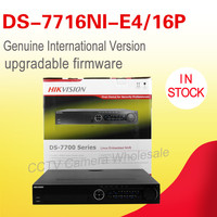 In stock original English version NVR kit DS 7716NI E4/16P 4SATA and 16 POE interfaces POE alarm NVR 16 Channels