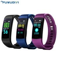 FUWUDIYI Y5 Fitness Bracelet Smart Wristbands Heart Rate Monitor Blood Pressure Fitness Tracker Smart Bracelet Color