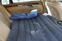 3 ColorsCar Air Mattress Travel Bed Car Back Seat Cover Inflatable Mattress Air Bed Good Inflatable Car Bed For Camping