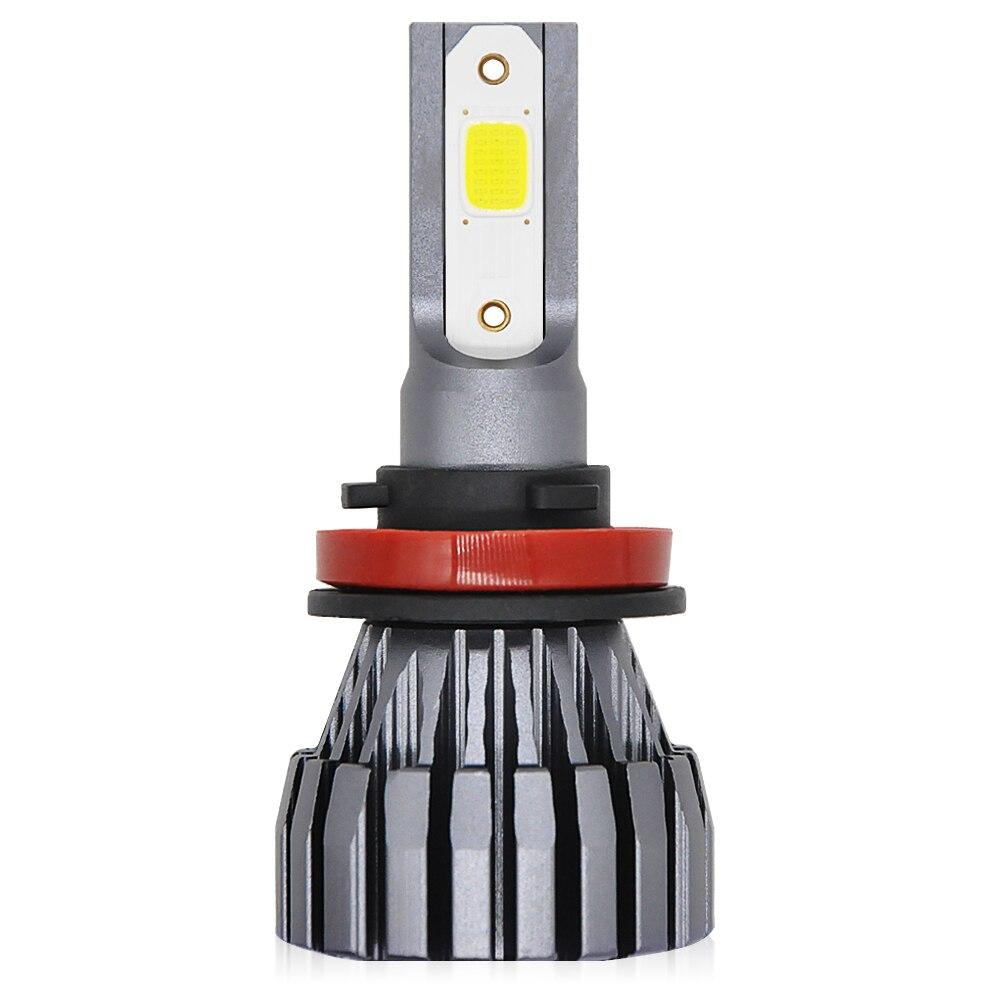 H7 Auto Lampe H1 H3 H4 H11 9005 9012 HB3 Led HB4 COB 9006 50 watt 12 v 10000LM Auto LED Scheinwerfer Birne 6500 karat 4300 karat Scheinwerfer Scheinwerfer