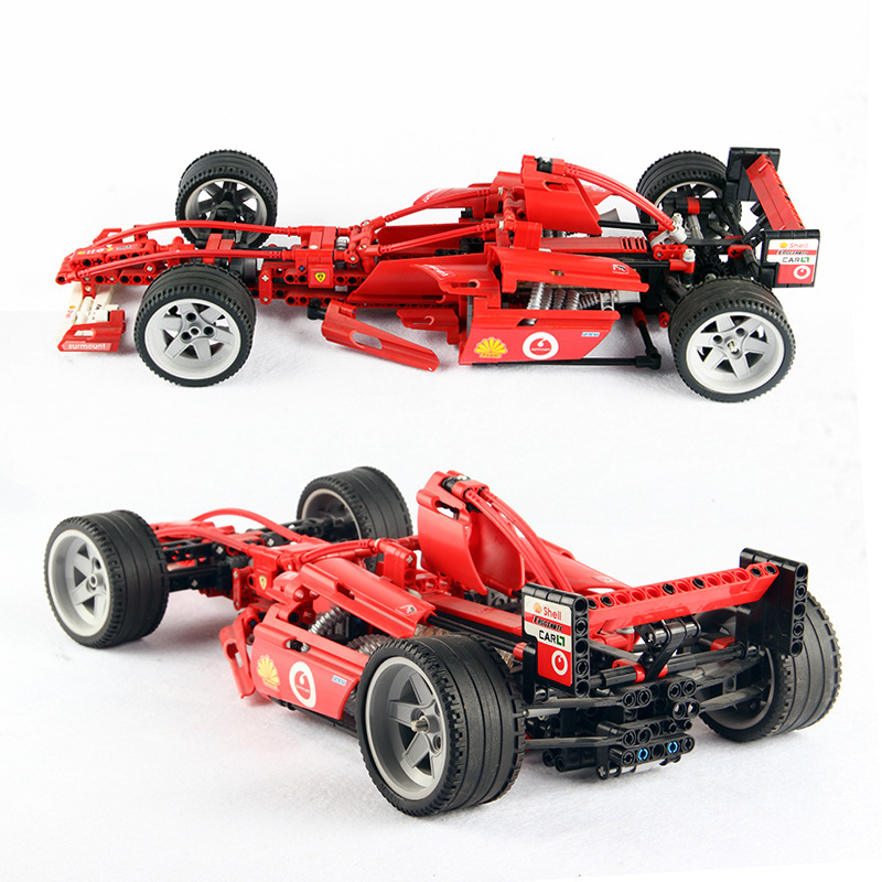 726pcs Diy Decool Building Blocks Technic City Racers F1 1:10 Car Bricks Classic Model Compatible With Legoingly Kids Toys Gifts цена