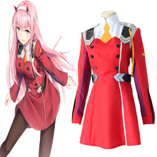 цена на Anime Darling In The FranXX Cosplay Costumes Zero Two Cosplay Costume Uniform Halloween Party Women 002 Cosplay Costume