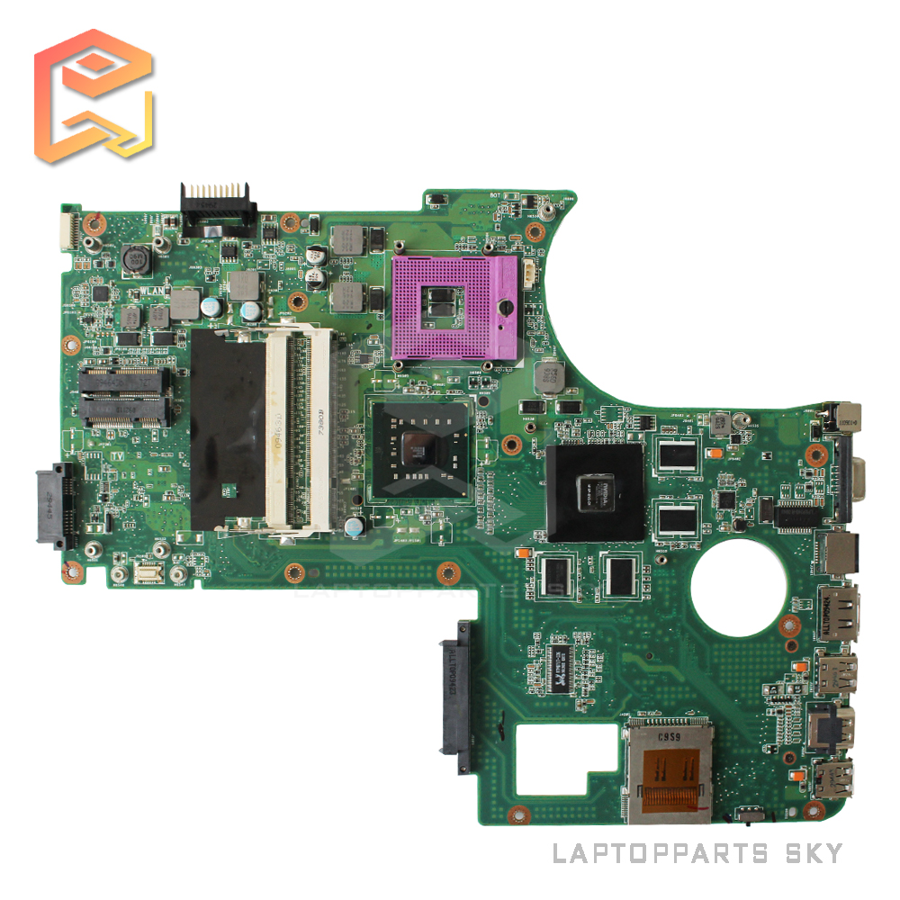 For asus N71VG N71VN laptop motherboard PM45 REV:2.1 mainboard fully tested for msi ms 10371 intel laptop motherboard mainboard fully tested works well