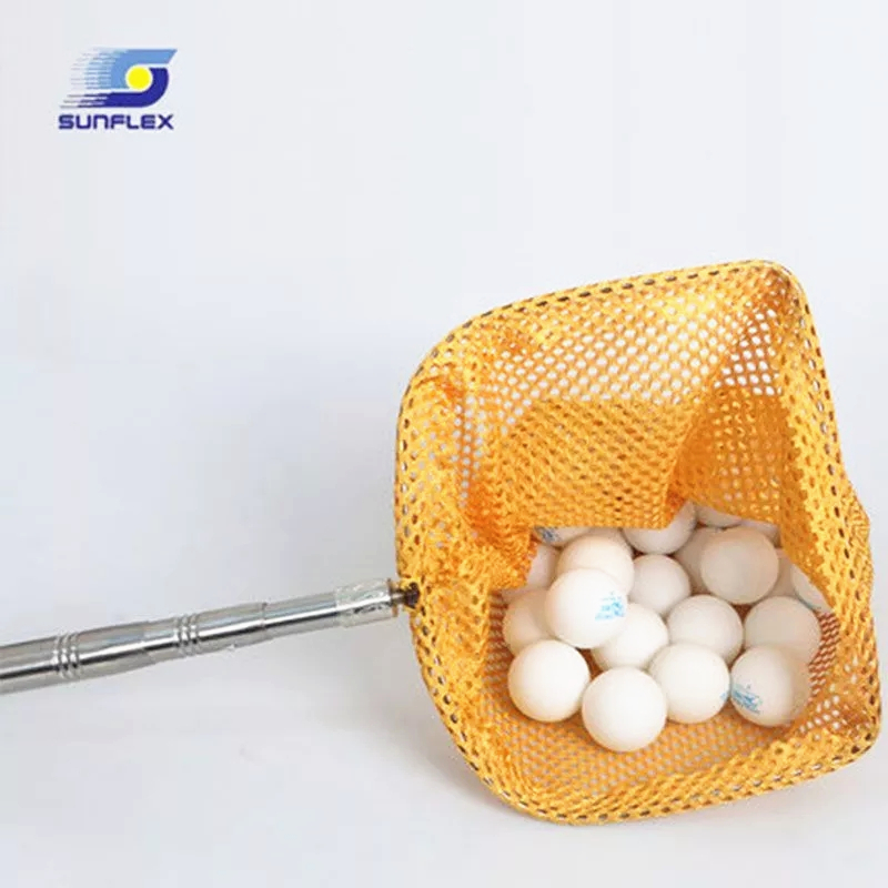 Table Tennis Balls Sunflex Collecting Tool Easy Pick Up Picker Telescopic Retrieve Recycle Catch Net Ping Pong Accessories Set