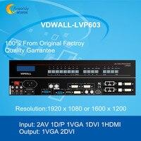 Оригинальный видеокоммутатор VDWALL LVP603 для масштабная сцена и театр светодиодный экран