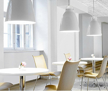 جديد 1 قطعة الحديثة كارافاجيو تعليق أسود/أبيض ضوء إضاءة معلقة غرفة الجلوس 2017 Zcl GY262