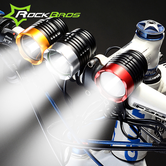 Front Bicycle Light T6 Strong Flashlight for Bike Accessories cycle ...