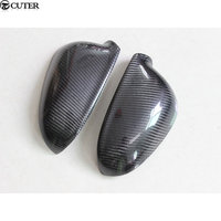 Golf 5 MK5 Replace style Carbon Fiber Rear side Mirror Covers Caps For VW Golf 5 MK5 2006 2009 Free shipping