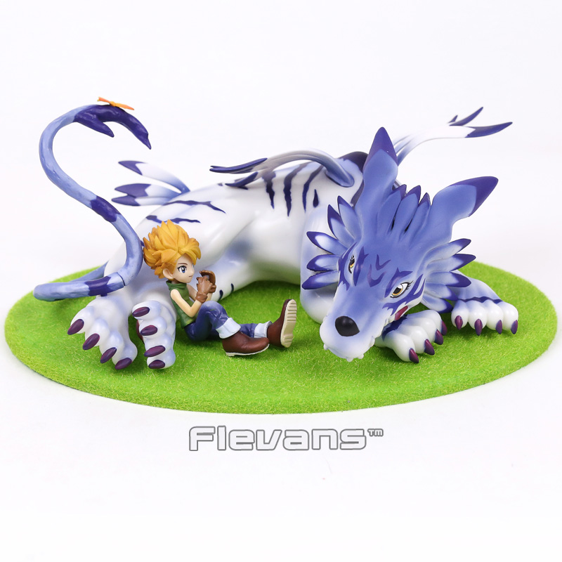 Gem Digimon Приключения gabumon и Ямато ПВХ Рисунок Коллекционная модель игрушки