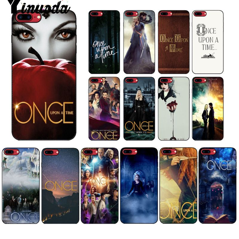Yinuoda Once Upon a Time DIY Luxury High end Protector Case for iPhone 8 7 6