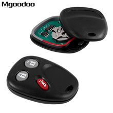 3 Button Remote Car Key Fob Shell LHJ011 For G M Hummer H2 Chevrolet Avalanche Tahoe Cadillac Escalade 2003-2005 2006 315mhz