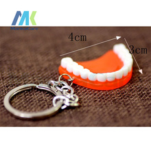 30/60 Pcs Simulation teeth / gums keychain creative gifts fashion gift small business dental hospitals and clinics