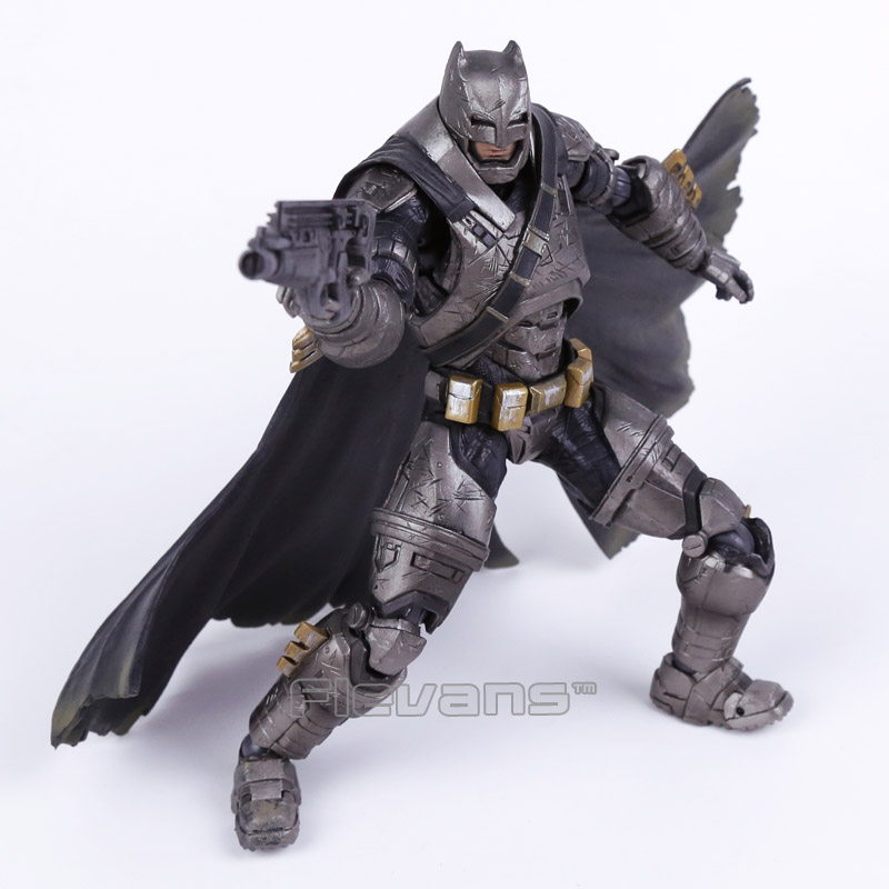 Play Arts KAI Batman v Superman Dawn of Justice NO.3 Armored Batman PVC Action Figure Collectible Model Toy play arts kai street fighter iv 4 gouki akuma pvc action figure collectible model toy 24 cm kt3503