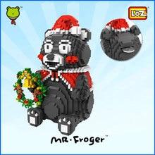 Mr.Froger LOZ Kumamon piggy bank Diamond Block Minifigures Building Blocks Kumamoto Japan mascot Bear figure cute juguete toys