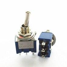 2 pc AC ON-ON SPDT 3step 2 Position Lever Switch 6A 125 v /3A 250V