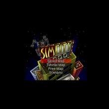 Sim City 2000 16 бит большой серый карточная игра для США NTSC игровой плеер