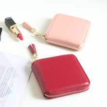 2019 Wallet Female For Coins Cute Women Small Leather Wallets Zipper Purses Portefeuille Purse Clutch