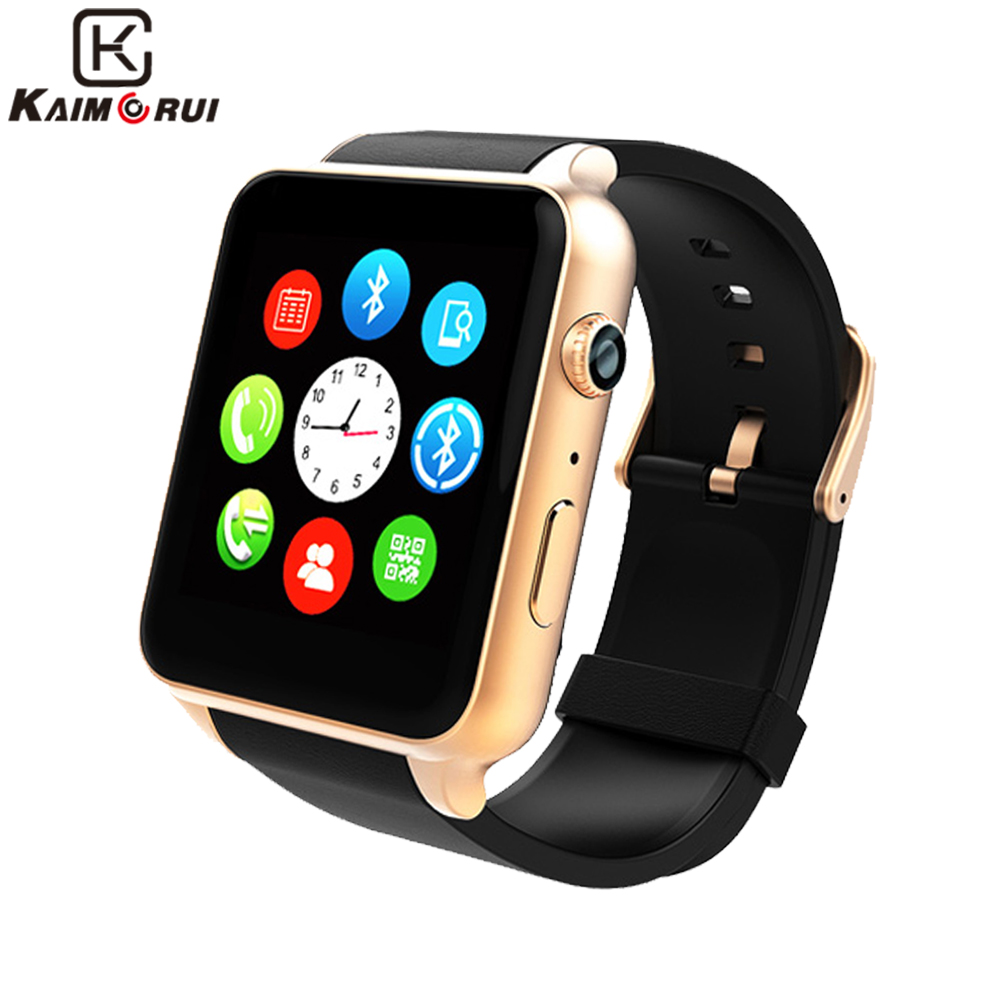 Kaimorui Bluetooth Smart Watch Heart Rate Sleep Monitor Support TF/SIM Card Smartwatch for iPhone and Android Smart Watches bluetooth smart watch heart rate monitor sleep monitoring smart bracelet support sim tf sd card for ios android multi languages