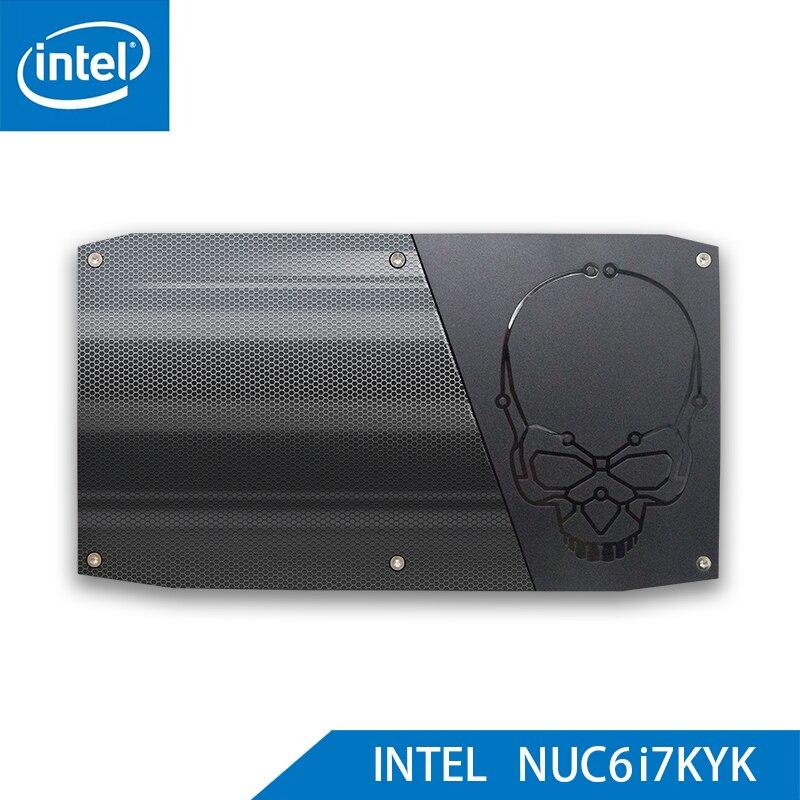 Original Intel Core NUC CPU i7 6770HQ Mini PC Windows 10 4K USB 3.0 HDMI WIFI BL Gigabit Ethernet Office Gaming Desktop Computer