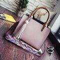 Women Messenger Bags Bolsos Mujer Luxury Handbags Women Bags Designer Tote Bag PU Leather Handbags Clutch Tassel Shoulder Bags