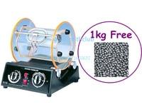 12KG Large Rotary Tumbler Jewelry Tools + (Free) 1kg Round Beads , Jewelry Polishing Machine , Variable Speed