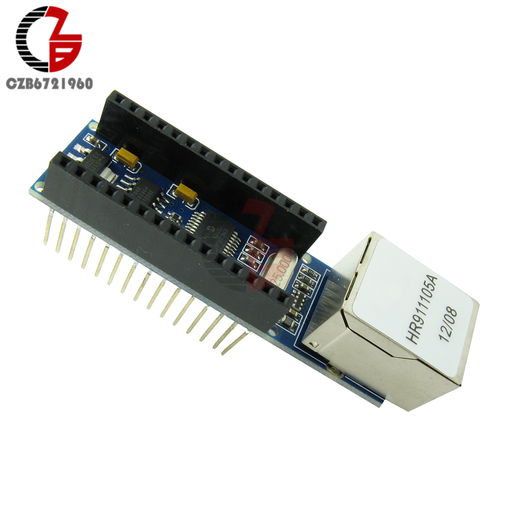 Liberal Nano V3 Ethernet Shield Enc28j60 Microchip Hr911105a Ethernet Webserver Board Module For Arduino Nano 3.0 Instrument Parts & Accessories