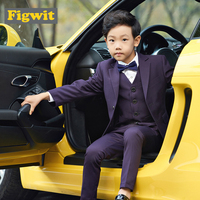 Figwit Formal First Communion Suit Set For Boys Children Teenagers Teen Suits Set Wedding Party Age 5 7 9 11 13 Years Kids Suit