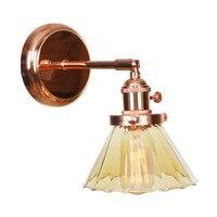 IWHD Ferro Ouro Rosa LEVOU Luminárias de Parede Espelho Do Banheiro Quarto Wandlamp Vidro Nórdico Lâmpada de Parede Arandela Luz Aplique Pared|Luminárias de parede| |  -