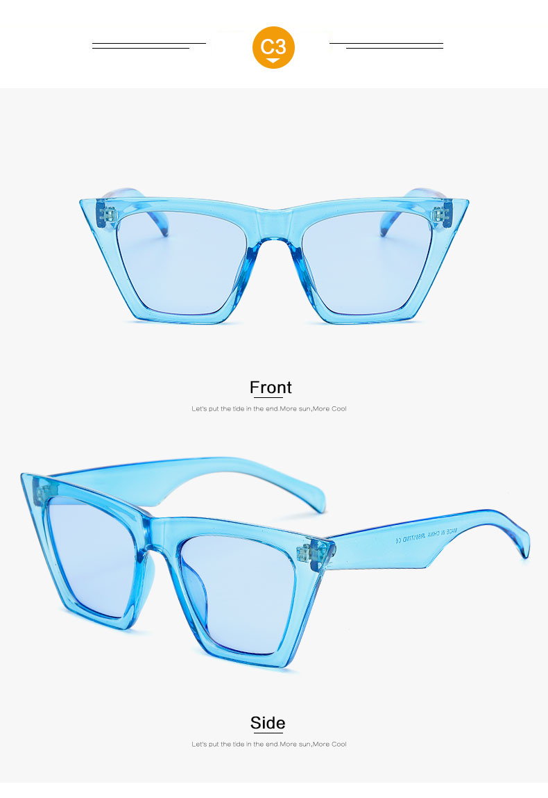HTB1Z 7sdAfb uJkHFJHq6z4vFXal - AFOFOO Fashion Women Sunglasses Cat Eye Glasses Lady Brand Designer Retro Sun glasses UV400 Shades Eyewear Oculos de sol