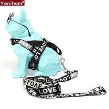 New Fashion Dog Harness Vest No Pull Maltese Pet Leash  Pitbull Or Small And Medium Traction Belt Supplies