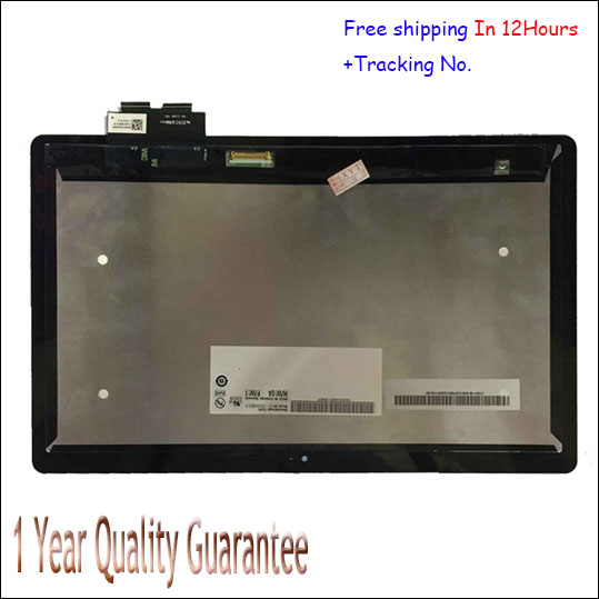 New For Acer Iconia Tab W700 B116HAT03.1 LCD Display Panel Touch Screen Digitizer Glass Lens Free Shipping + Tracking Number new 10 1 for acer iconia tab a210 touch screen panel digitizer tablet pc free shipping