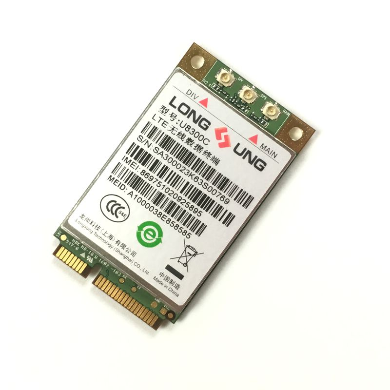U8300C LTE WCDMA TD-SCDMA CAT4 Mini Pcie Support GPS 100% New&Original Wireless Module In The Stock