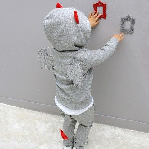 bebe meninos roupas 2020 nova outono casual manga longa esporte terno criancas define desenhos animados